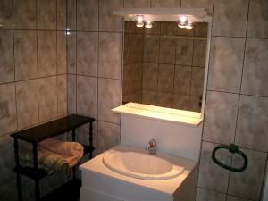 Salle de bain du gite 2 personnes